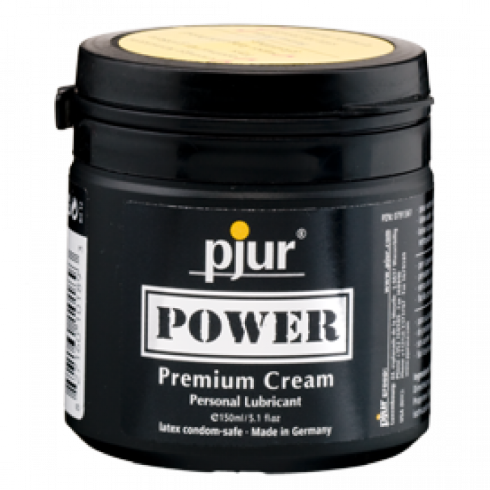 Pjur Power Premium crema lubrificante a base acquosa e siliconica 150ml