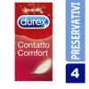 Durex Contatto Comfort - preservativi sottili 4 pezzi