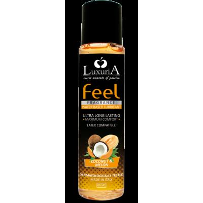 Luxuria Feel Fragrance Cocco & Melone - lubrificante cocco e melone