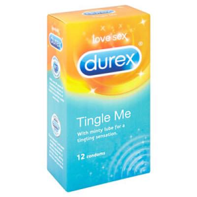 Durex Tingle Me - preservativi stimolanti effetto freddo