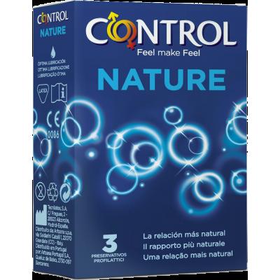 Control Adapta Nature - 3 pezzi tabacchi
