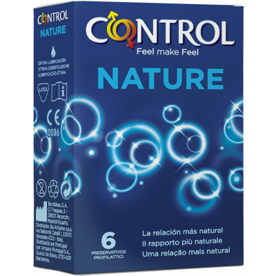 Control Adapta Nature - 6 pezzi tabacchi