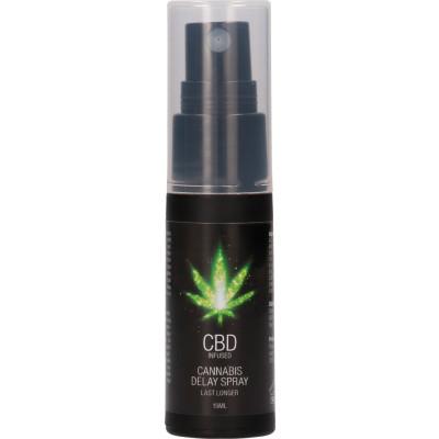Spray ritardante per lui CBD Infused - Cannabis Delay Spray Shots
