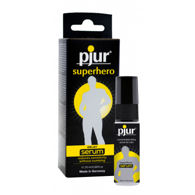 Pjur Superhero Serum - gel ritardante per lui 20ml