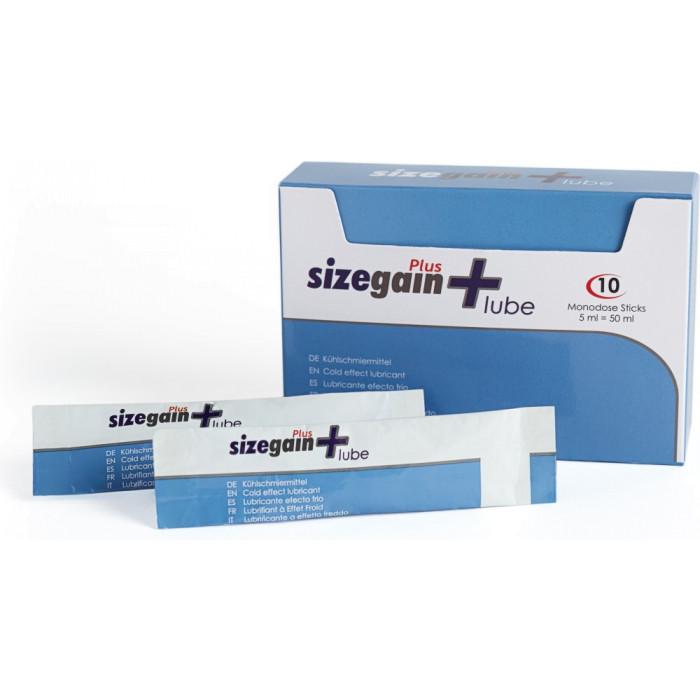 Lubrificante effetto freddo Sizegain Plus Lube 500cosmetics