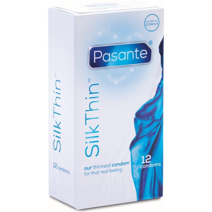 Preservativi ultra sottili Silk Thin Pasante