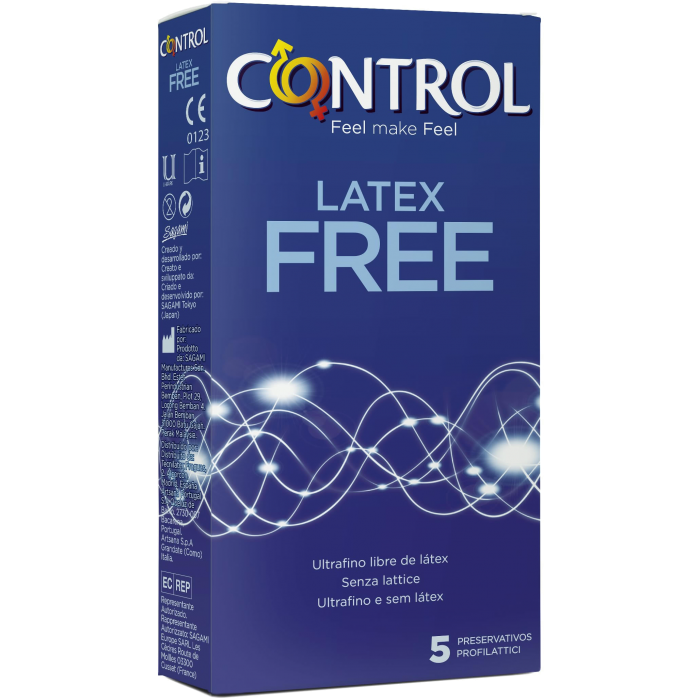 Control Latex Free - preservativi senza lattice