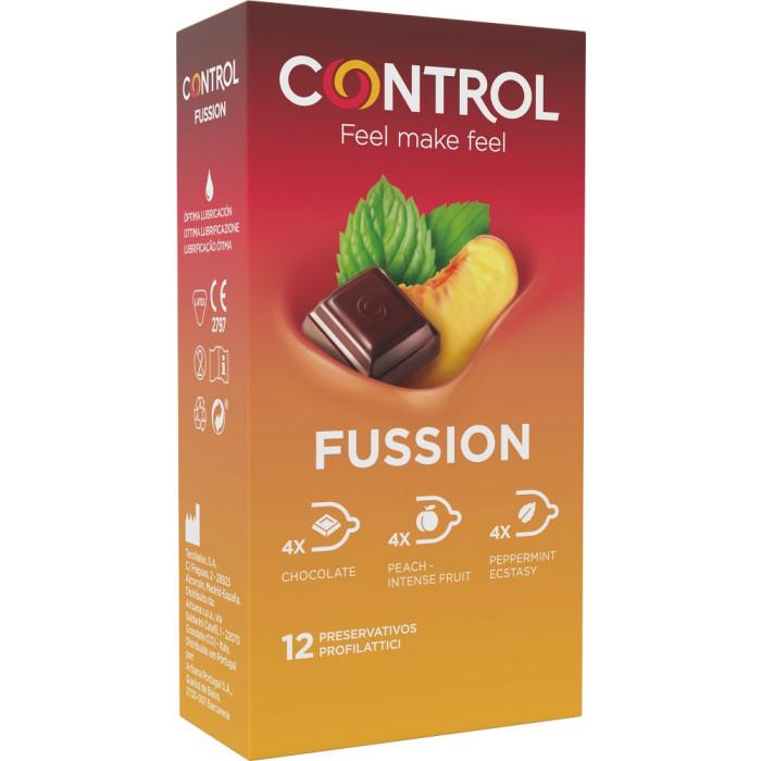 Control Sex Senses Fussion - 12 pezzi