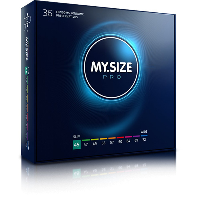 MY.SIZE preservativi 45mm - 36 pezzi