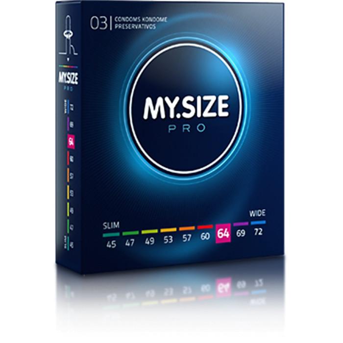 MY.SIZE preservativi 64mm - 3 pezzi