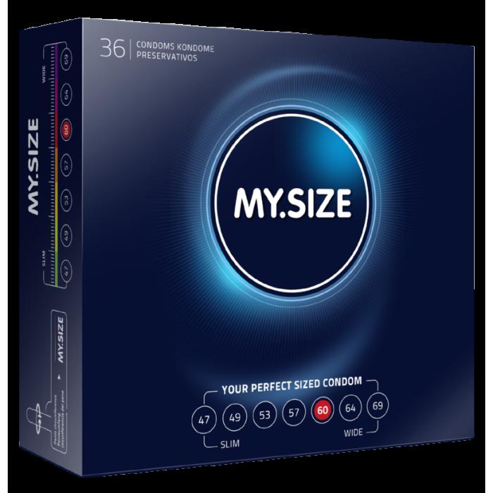 MY.SIZE preservativi 60mm - 36 pezzi