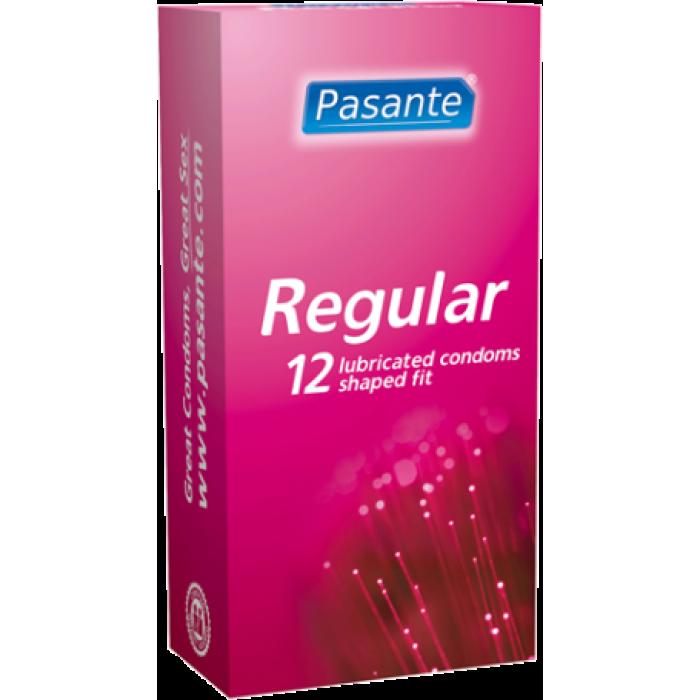 Pasante Regular - preservativi classici 12 pezzi