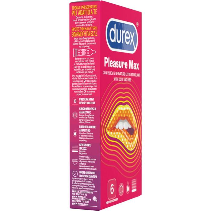 Durex Pleasuremax - preservativi stimolanti
