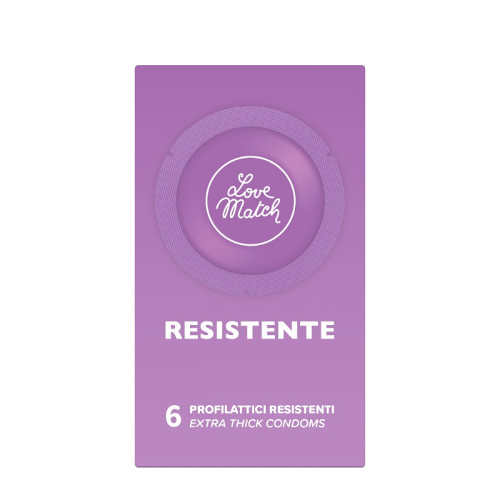 Love Match Resistente - 6 pezzi