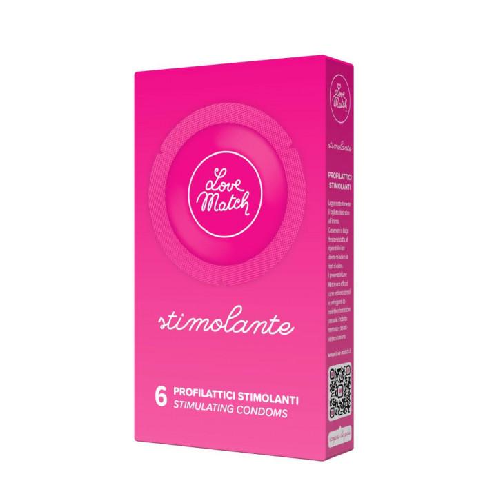 Love Match Stimolante - 6 pezzi