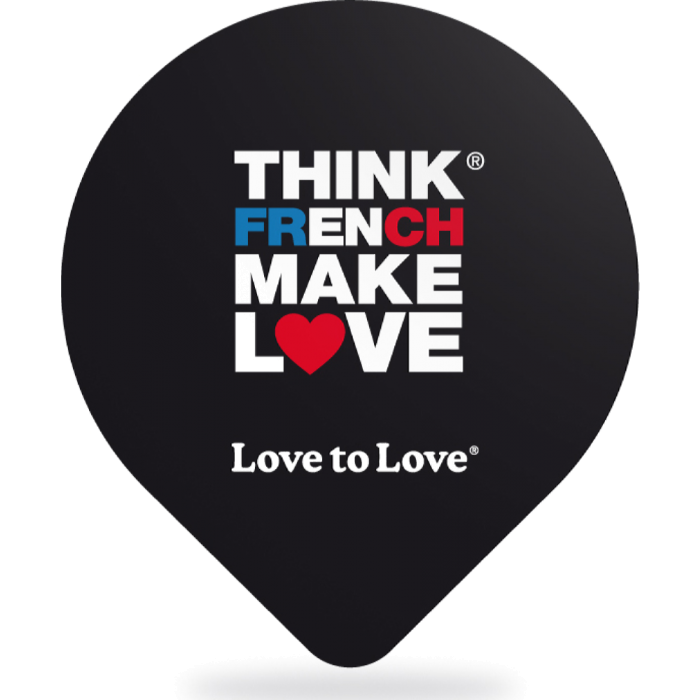 Preservativi classici Think French Make Love Love to Love